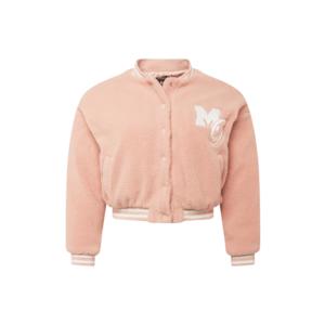 Missguided Plus Geacă de primăvară-toamnă roz / alb imagine