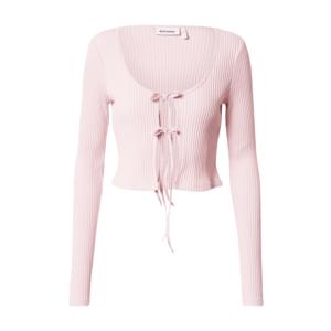 WEEKDAY Geacă tricotată roz imagine
