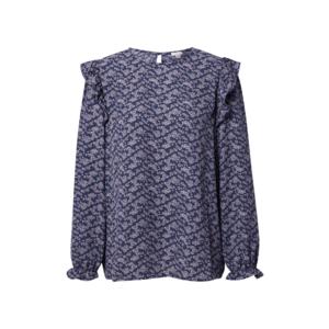 OVS Bluză bleumarin / mov pastel imagine