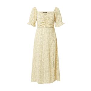 Rut & Circle Rochie 'CAMILLE' galben pastel / galben / kaki imagine
