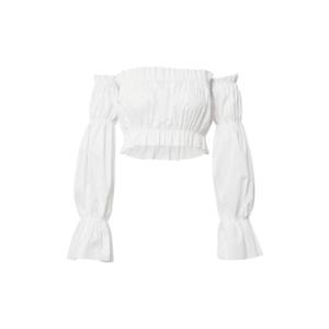 Femme Luxe Bluză 'BROGAN' alb imagine