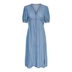 ONLY Rochie tip bluză 'Daisy' albastru denim imagine