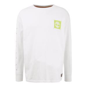 TIMBERLAND Tricou alb / verde măr imagine