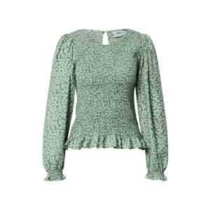 Moves Bluză 'Danima' verde / alb / negru imagine