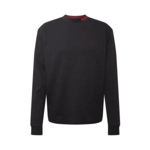 HUGO Tricou 'Dorrison' negru / roșu imagine