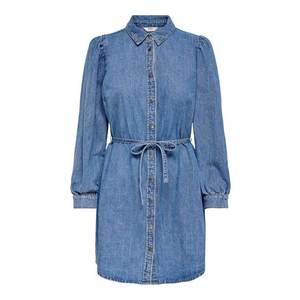 ONLY Rochie tip bluză albastru denim imagine