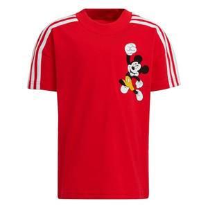 ADIDAS PERFORMANCE Tricou funcțional 'Mickey Mouse' roși aprins / alb / negru / galben muștar imagine